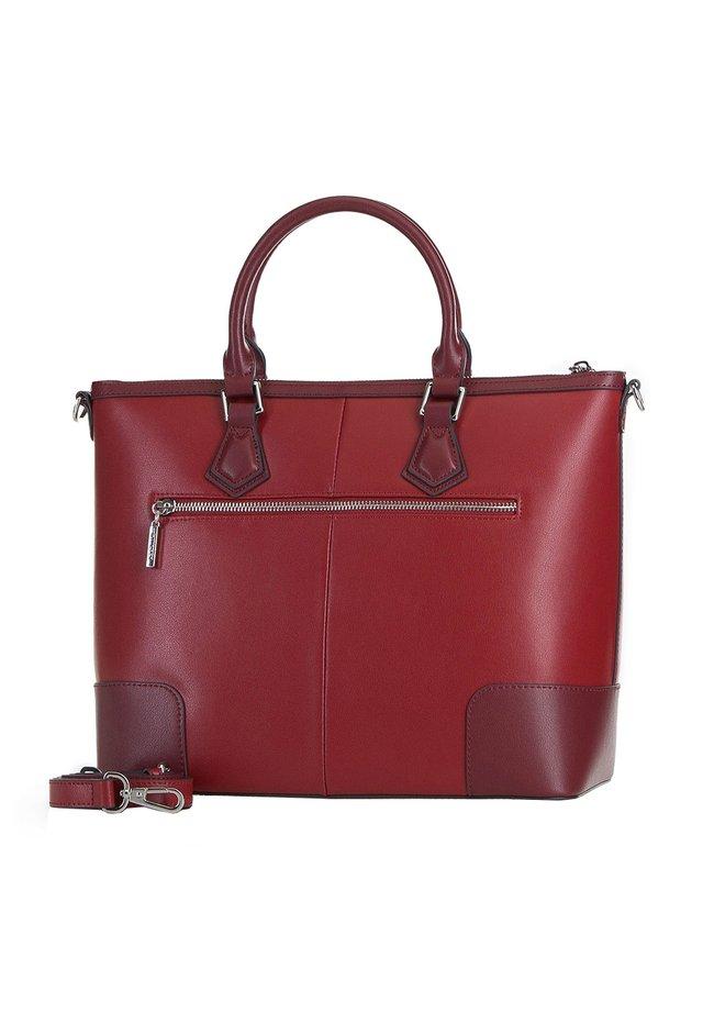 ELEGANCE - Handbag - rot