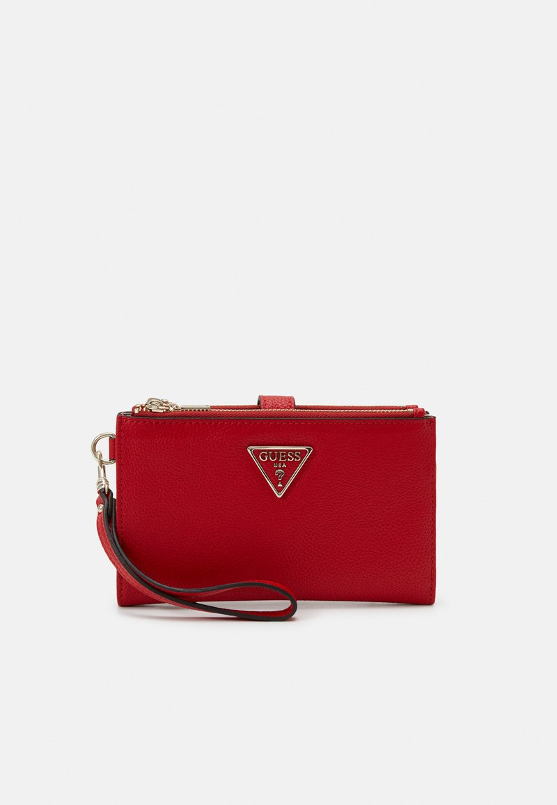 Guess - KIRBY ZIP ORGANIZER - Lommebok - red