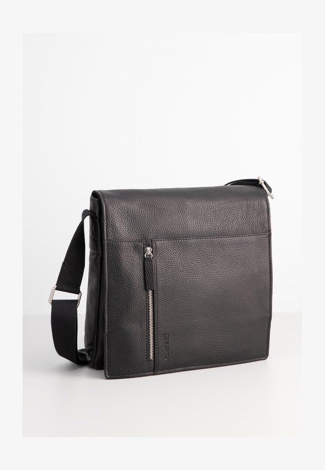 KENNINGTON SHOULDERBAG MVF - Across body bag - black
