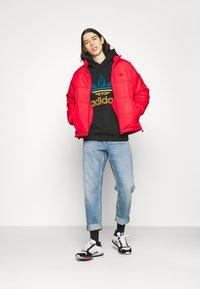 adidas Originals - OMBRE UNISEX - Sweatshirt - black - 1