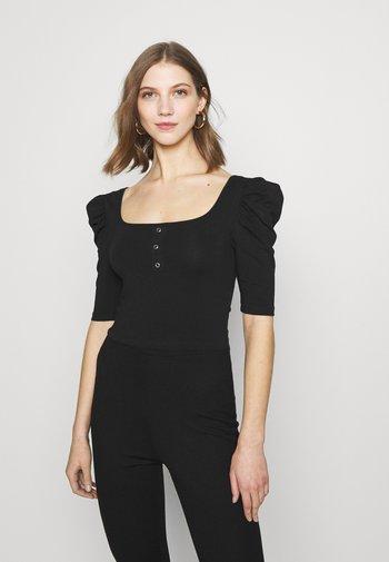 PCJASMINA - T-shirts - black