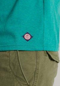Superdry - Print T-shirt - ocean green marl - 2
