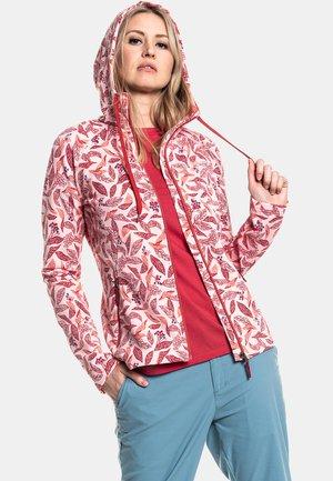 FLEECE HOODY MAIDSTONE  - Zip-up sweatshirt -  pink