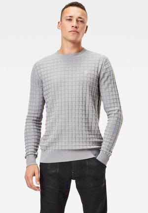 CORE TABLE ROUND LONG SLEEVE - Trui - steel grey