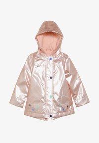 mothercare - BABY CLOUD AND RAIN PEARL  - Waterproof jacket - pink - 2