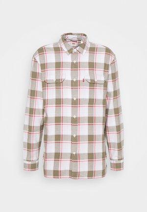 JACKSON WORKER - Skjorta - bleached datolite vetiver
