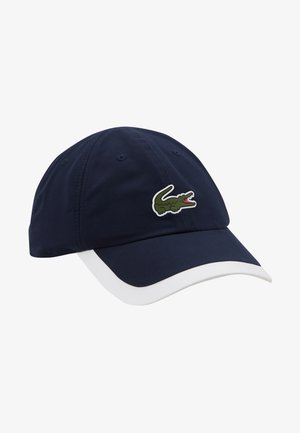 TENNIS CAP - Kšiltovka - navy blue/white