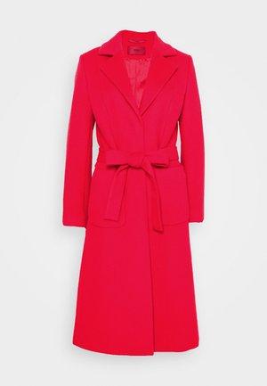 MESUA - Klassischer Mantel - open pink