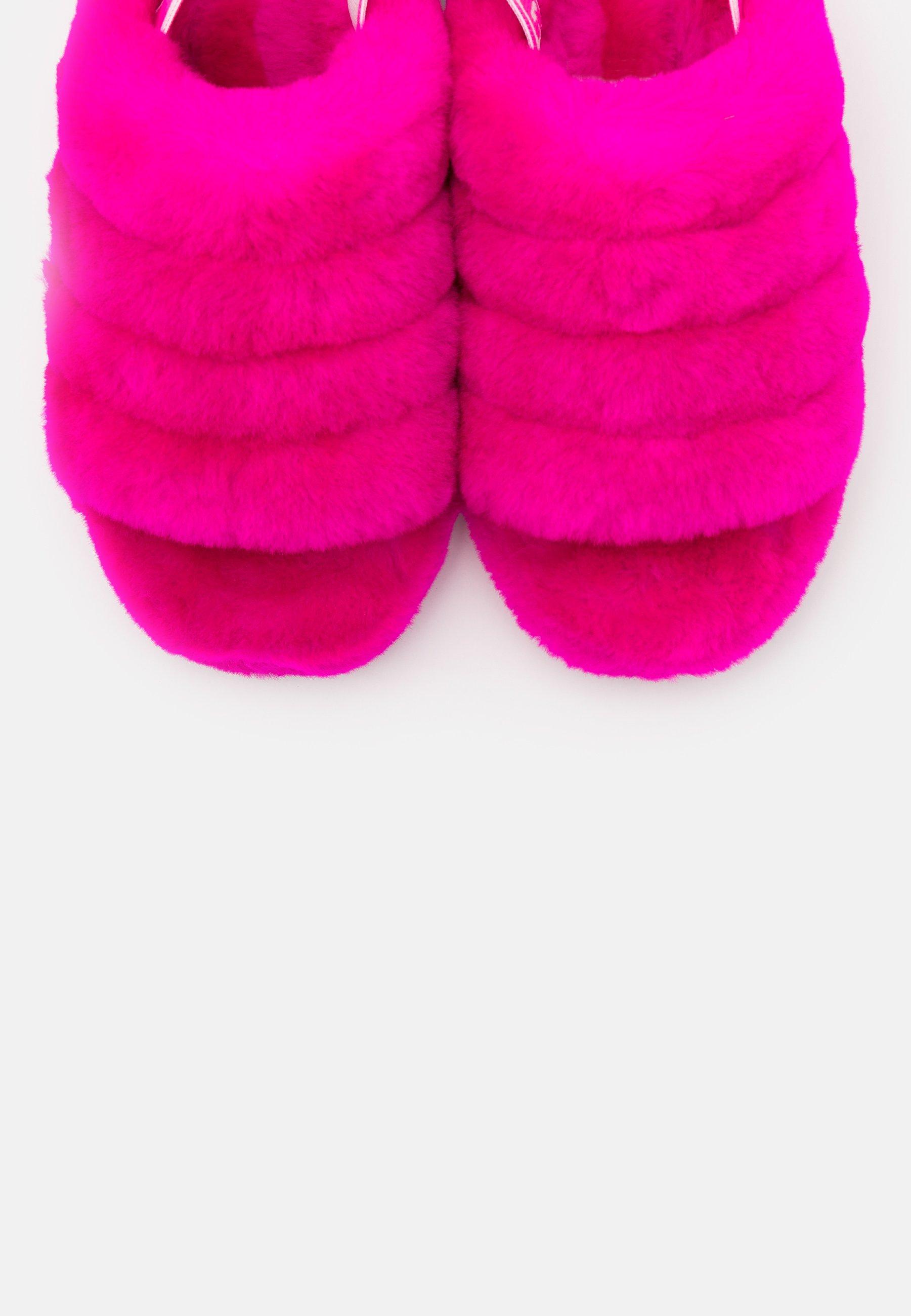 Ugg Fluff Yeah - Hausschuh Rock Rose/pink