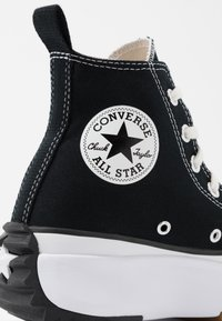 Converse - RUN STAR HIKE - High-top trainers - black/white/gum - 2