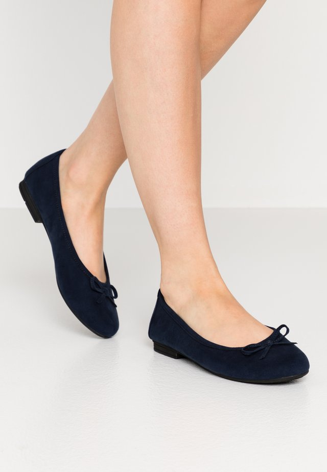 Ballerinat - navy