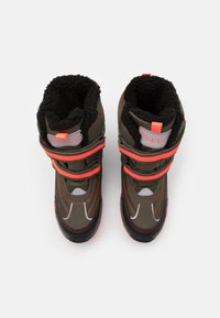 Kappa - BONTE TEX UNISEX - Winter boots - army/coral - 3
