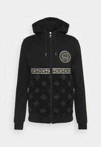 Glorious Gangsta - SINTOS HOOD - Zip-up hoodie - black/gold - 4