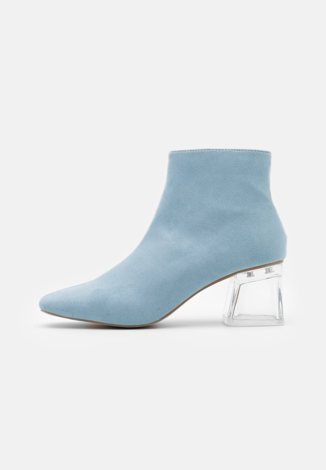 ELSIE - Boots à talons - blue