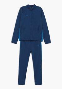 Nike Performance - DRY ACADEMY SET - Tracksuit - coastal blue/photo blue - 0
