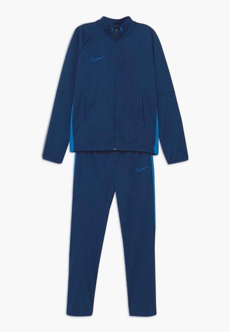 Nike Performance - DRY ACADEMY SET - Tracksuit - coastal blue/photo blue