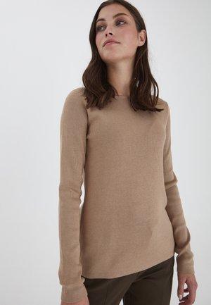 SARA - Sweater - tannin melange