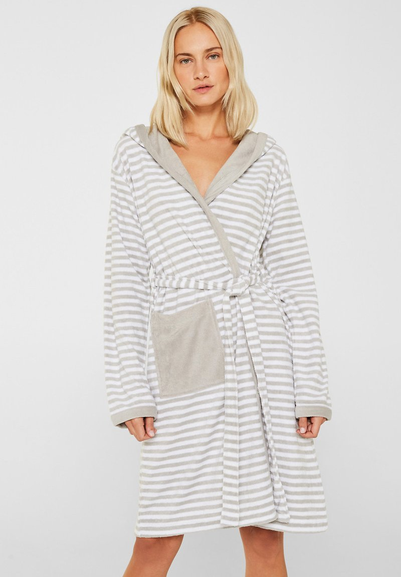 Esprit - Dressing gown - stone