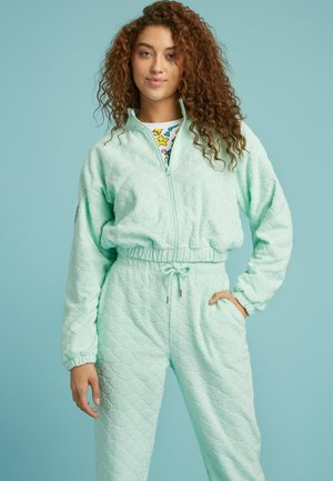 Zip-up sweatshirt - himmelblau