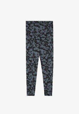 Leggings - Trousers - nero st.floral