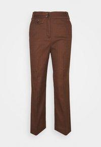 J.CREW - SOLID ANDERSON PANT - Pantalon classique - dark twig - 0