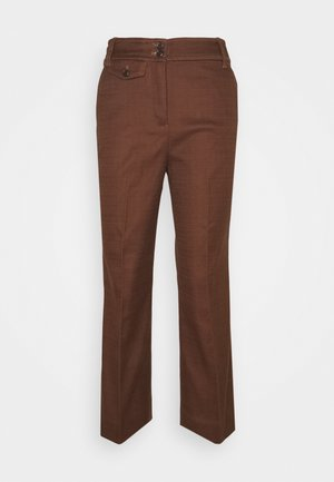 SOLID ANDERSON PANT - Trousers - dark twig