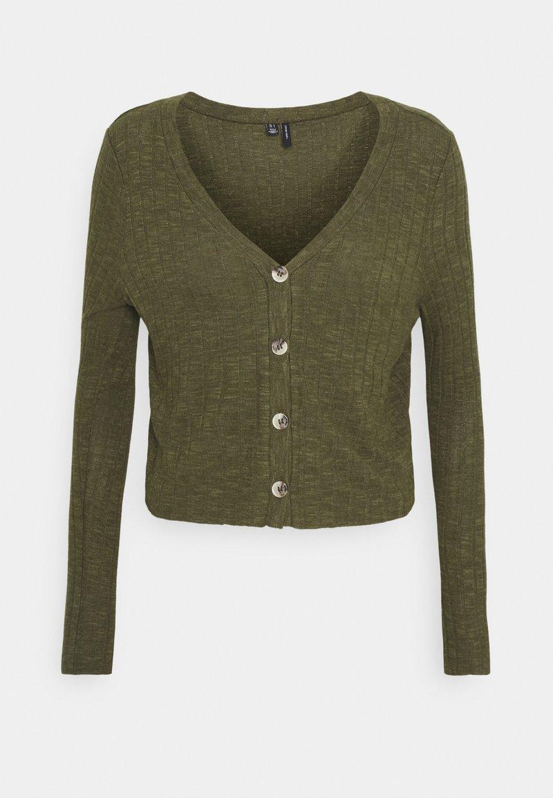 Vero Moda - VMADA  - Cardigan - ivy green