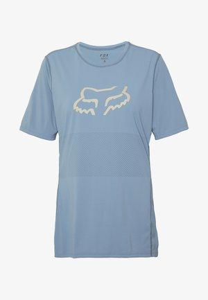 WOMENS RANGER - Print T-shirt - light blue