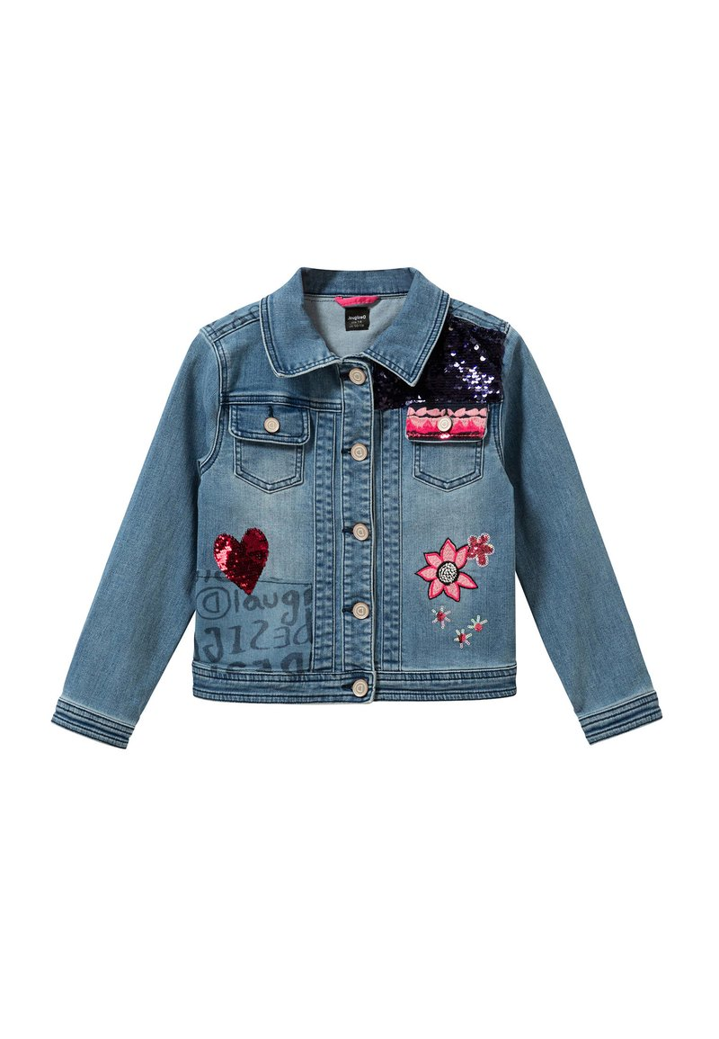 Desigual - Denim jacket - blue
