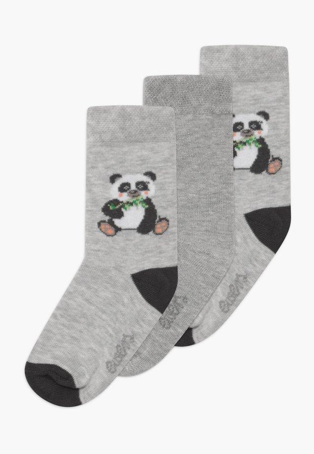 PANDA 3 PACK - Socks - grau