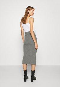 esmé studios - SKYLAR SKIRT - Pencil skirt - grey melange - 2