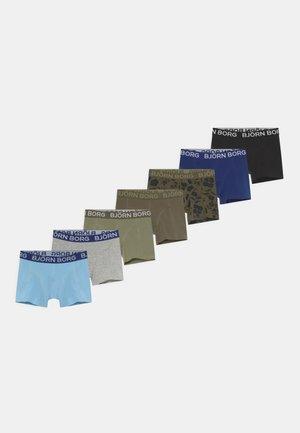 CORE BOXER 7 PACK - Onderbroeken - khaki