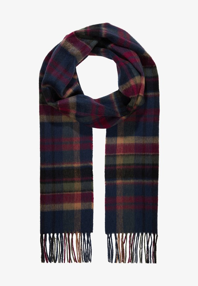 VINTAGE WINTER PLAID - Écharpe - navy