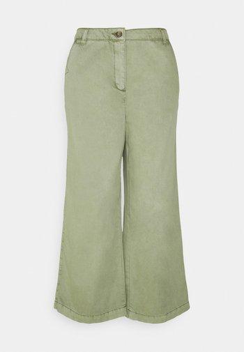 CULOTTE - Spodnie materiałowe - light khaki