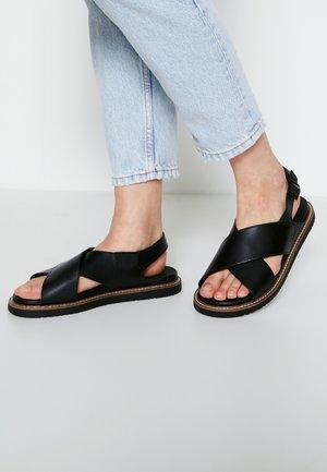 LANA CROSS STRAP - Walking sandals - black