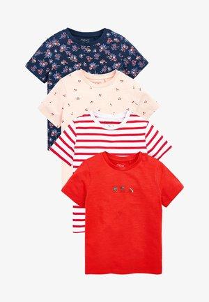 4 PACK - Print T-shirt - multi coloured