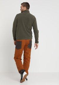 The North Face - MENS GLACIER 1/4 ZIP - Bluza z polaru - new taupe green - 2