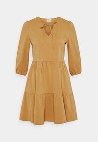 NMLIVE SHORT DRESS  - Vestito estivo - brown sugar