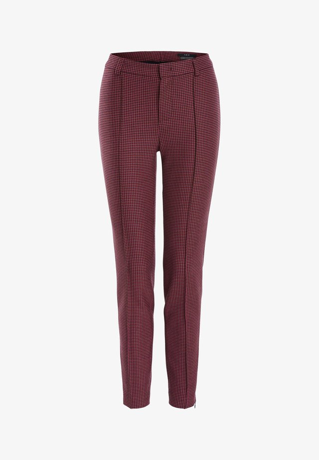 Trousers - pink grey