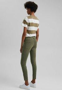 edc by Esprit - Slim fit jeans - khaki green - 2