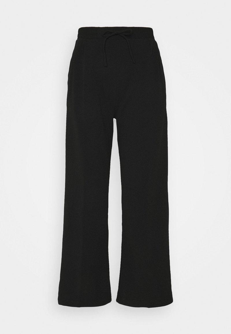Miss Selfridge Petite - WIDE LEG JOGGER - Kalhoty - black