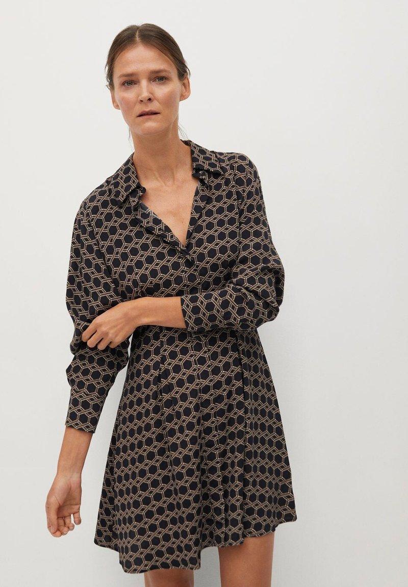 Mango - COSMO - Shirt dress - noir
