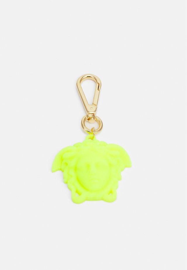 UNISEX - Schlüsselanhänger - fluo yellow/gold