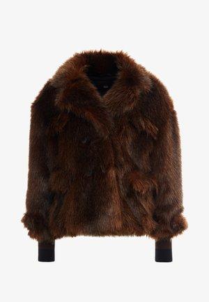 LUXURY FASHIONISTA CABAN JACKET - Winter jacket - brown
