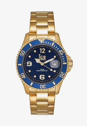 Watch - gold-coloured/blue