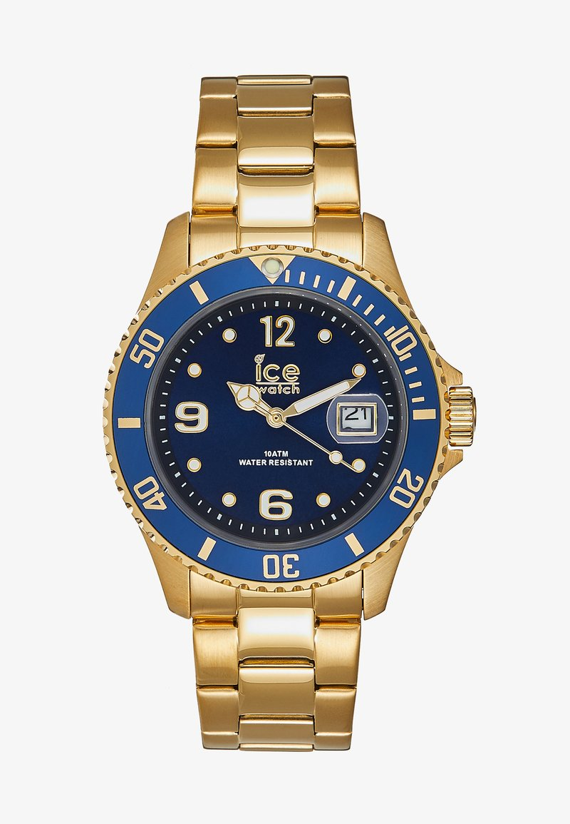 Ice Watch - Zegarek - gold-coloured/blue