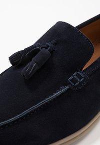 Hackett London - Elegantní nazouvací boty - navy - 5