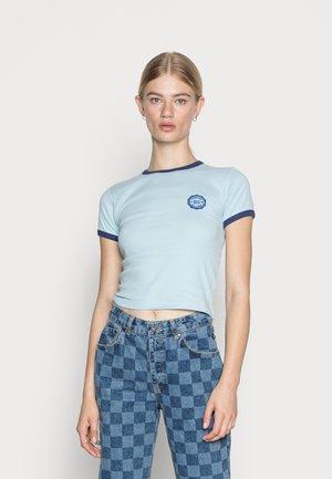 RINGER BABY TEE - Camiseta básica - blue