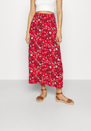 VMSIMPLY EASY SKIRT - Maxi skirt - goji berry