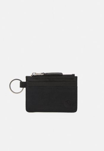 WALLET WITH RING UNISEX - Wallet - black
